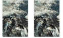 Safavieh Glacier Blue and Multi 8' x 10' Area Rug