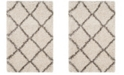 Safavieh Hudson Ivory and Gray 2' x 3' Area Rug