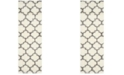 """Safavieh Montreal Ivory and Grey 2'3"""" x 9' Runner Area Rug"""