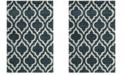 Safavieh Hudson Slate Blue and Ivory 6' x 9' Area Rug