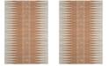 Safavieh Evoke Ivory and Orange 9' x 12' Area Rug