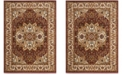 """Safavieh Summit Red and Ivory 6'7"""" x 9'2"""" Area Rug"""