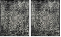 Safavieh Evoke Black and Gray 11' x 15' Area Rug