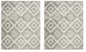 Safavieh Skyler Gray and Ivory 9' x 12' Area Rug
