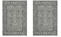 Safavieh Charleston Gray and Dark Gray 4' x 6' Area Rug