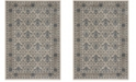 Safavieh Brentwood Light Gray and Blue 8' x 10' Area Rug