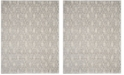 Safavieh Tunisia Ivory and Light Gray 8' x 10' Area Rug