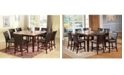 Acme Furniture Danville Counter Height Chair (Set of 2)