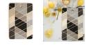 Deny Designs Nordic Slant Geometric Rectangle Cutting Board