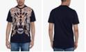 Sean John Men's Tiger Studded Graphic T-Shirt