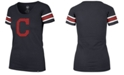 '47 Brand Women's Cleveland Indians Off Campus Scoop T-Shirt