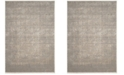Safavieh Meadow Ivory and Gray 4' x 6' Area Rug