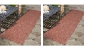 "Safavieh Courtyard Red 2'3"" x 14' Sisal Weave Runner Area Rug"