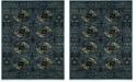 Safavieh Vintage Hamadan Blue and Multi 9' x 12' Area Rug