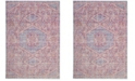 Safavieh Windsor Lavender and Fuchsia 4' x 6' Area Rug