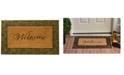 """Home & More Prestige Welcome 18"""" x 30"""" Coir/Rubber Doormat"""