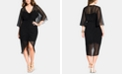 City Chic Trendy Plus Size Drawn Up Ruched Dress