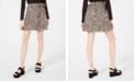 Planet Gold Juniors' Printed Wrap Skirt