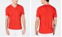 INC International Concepts I.N.C. Men's Burnout Palm V-Neck T-Shirt, Created for Macy's