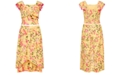 Beautees Big Girls 2-Pc. Floral-Print Dress