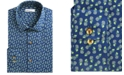 Bar III Men's Slim-Fit Stretch Tossed Pineapple-Print Dress Shirt, Created For Macy's
