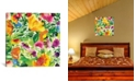 """iCanvas """"July Bouquet Ii"""" By Kim Parker Gallery-Wrapped Canvas Print - 37"""" x 37"""" x 0.75"""""""