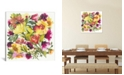 """iCanvas """"Love Garden"""" By Kim Parker Gallery-Wrapped Canvas Print - 18"""" x 18"""" x 0.75"""""""