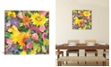 """iCanvas """"Russian Garden"""" By Kim Parker Gallery-Wrapped Canvas Print - 18"""" x 18"""" x 0.75"""""""