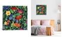 """iCanvas """"Jamaican Garden"""" By Kim Parker Gallery-Wrapped Canvas Print - 18"""" x 18"""" x 0.75"""""""