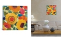 """iCanvas """"Market Flowers I"""" By Kim Parker Gallery-Wrapped Canvas Print - 18"""" x 18"""" x 0.75"""""""