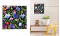"""iCanvas """"India Garden Ii"""" By Kim Parker Gallery-Wrapped Canvas Print - 18"""" x 18"""" x 0.75"""""""
