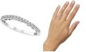 Le Vian Vanilla Diamond® Wavy Band (1/6 ct. t.w.) in 14k White Gold