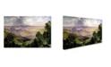 "Trademark Global Thomas Moran 'Valley Of Cuernavaca' Canvas Art - 19"" x 12"" x 2"""