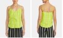 RACHEL Rachel Roy Jasmin Plaid Tie-Front Camisole