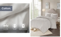 JLA Home Madison Park Laetitia Queen 3 Piece Cotton Chenille Medallion Comforter Set