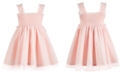 First Impressions First Impression's Baby Girl's Tulle Dress Set, Created for Macy's