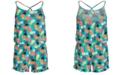 Epic Threads Big Girls Pineapple-Print Romper, Created for Macy's