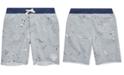 Polo Ralph Lauren Little Boys Twill Terry Graphic Shorts