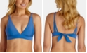 Raisins Juniors' Samba Solids Miami Triangle Bikini Top
