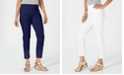 JM Collection Petite Embellished Slim-Fit Pants, Created for Macy's
