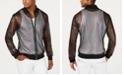 INC International Concepts I.N.C. Men's Pride Rainbow Mesh Bomber Jacket, Created for Macy's