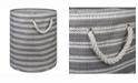 Design Import Paper Bin Basket Weave, Round
