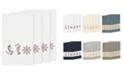 Linum Home Turkish Cotton Easton 4-Pc. Embellished Bath Towel Set