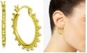 Essentials Beaded Small Hoop Earrings  s
