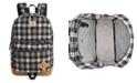 Steve Madden Men's Flannel Backpack