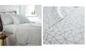 Southshore Fine Linens Geometric Maze 4 Piece Printed Sheet Set, King