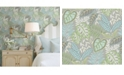"Brewster Home Fashions Jasmine Wallpaper - 324"" x 27"" x 0.025"""
