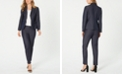 Nine West Two-Button Blazer & Straight-Leg Pants