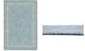 Bridgeport Home Pashio Pas5 Aquamarine 6' x 9' Area Rug