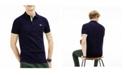 Lacoste Men's Slim-Fit Stripe Sleeve Polo Shirt